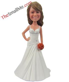 White wedding dress style8