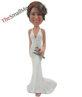 White wedding dress style23