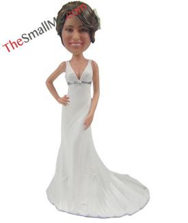 White wedding dress style24