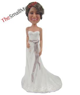White wedding dress style25