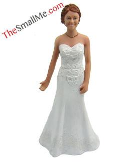 White wedding dress style35