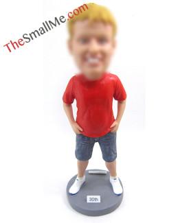 Red T Shirts boy