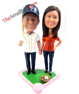 Baseball couple 5274