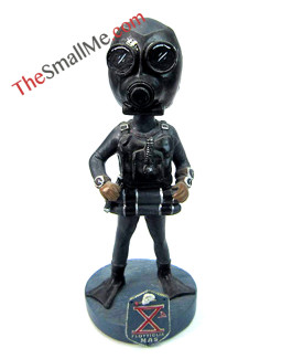 Gas mask male