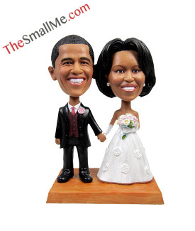 Easy style wedding bobbleheads 5601