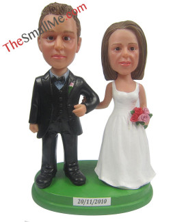 Easy style wedding bobbleheads 5610