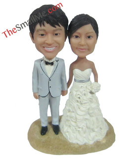 Easy style wedding bobbleheads 5626