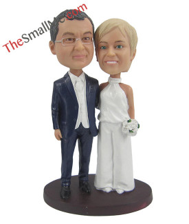Easy style wedding bobbleheads 5628