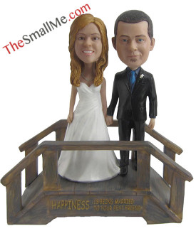Bridge wedding bobbleheads 5629
