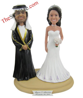 Arab wedding bobbleheads 5631