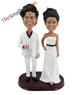 Easy style wedding bobbleheads 5635