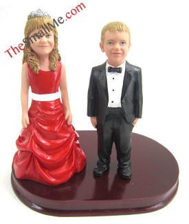 Children wedding bobbleheads5711