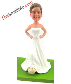 Football wedding woman 2504