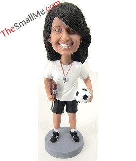 Female soccer coach 2511